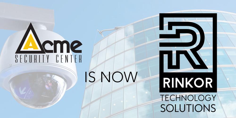 Acme Security Transition Rinkor Technolgy Logo
